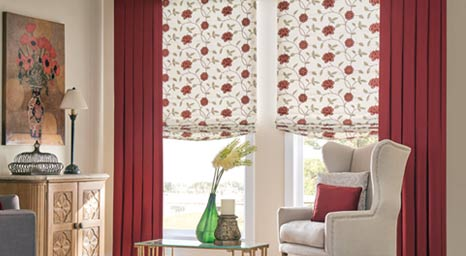 Graber drapery can create a classically stunning appearance to any room in your home. Our team can help you pick the right fabric to complement your individual style.