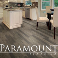 Unique collections of solid and engineered hardwood from Paramount - stop by to see the selection!